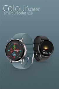 LIGE 2020 Neue Voll-Touch-Screen-Smart-Uhr-Frauen-Frauen Multifunktionale Sport-Herzfrequenz-Blutdruck IP67 wasserdicht Smartwatch + Box