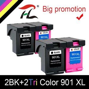 Чернильные картриджи HTL 4PK 901XL картридж для CC654 CC656 совместимый 4500 J4540 J4550 J4580 J4600 J4680 струйный принтер