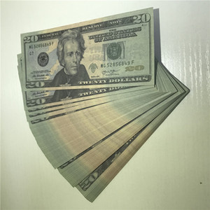 American Props Wholesale Dollar Paper Party 100 Bar Currency Pieces package Quality Shipping Atmosphere Fast High 20-3 Ccnom Fmips
