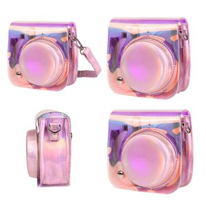 Good Quality Cute Glitter PU Leather Shoulder bag Protective Case Cover for Instant Camera Fujifilm Instax
