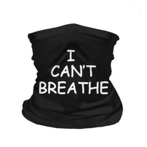 Trasporto veloce USA Designer I respiro non riesce a sciarpa Lavabile riutilizzabile viso protettivo maschera in tessuto traspirante ciclismo nero NUMUB