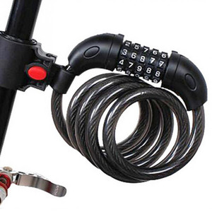 Bicycle Lock MTB Road Bike Safety Anti- theft Chain Lock With 2 Keys Outdoor Cycling Bicycle Accessories Bike Lock