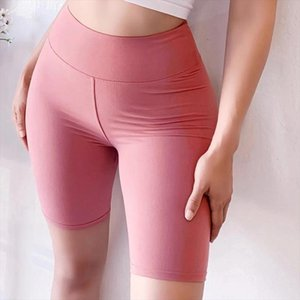 Casual Solid Wide Waistband Women Sport Fitness Short Leggings Summer Modern Lady Women Pants Trousers Drop Shipping