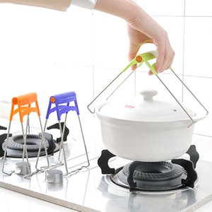 Practical stainless steel bowl holder