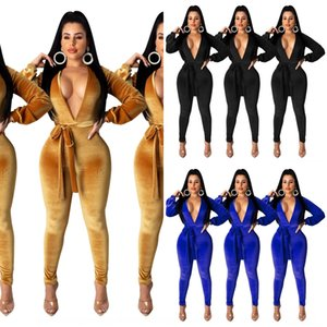 7KRP Mujeres Sólido Color Sumpsuits Body Sleeve Club Jogging Long Sexy Hot Hot Winter Ropa Leggings Full-Langth Pants Rampers Fall Sell Vender 18