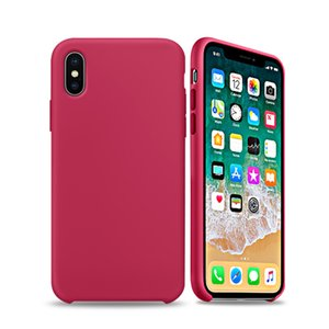 2019 New Hot-sale Girl for iphonexsmax xr mobile phone case for iphone6s 7 8plus silicone rubber for Apple Liquid silicone case