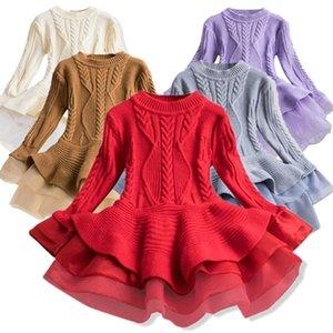 CATHYERY FILLES HILLES HIPHIQUES HIVER Vêtements chauds pour enfants Robe pour fille Princess Christmas Party Robes Enfants Vêtements F1202