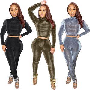 Womens designer tracksuit hoodie jacket leggings 2 piece set outfits corp top outerwear sport suit long sleeve shirt cardigan pants klw5731