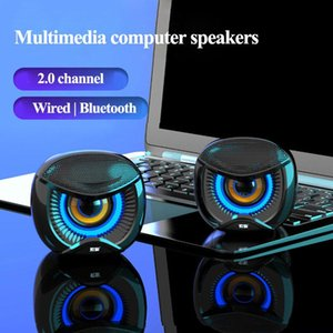SOAIY Mini Computer Speaker USB Wired Speakers 4D Stereo Sound Surround soundbox For PC Laptop Notebook bluetooth Loudspeakers