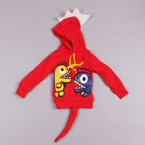 Clearance sale Children Hoodies Cartoon For Boys New Autumn and Winter Dinosaur Sweatshirts For Girls Hoodie Kids Jackets Coats Z128