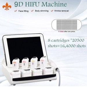 Freies Verschiffen 9D HIFU Schönheitsmaschine Haut Anziehen HIFU Machine 9D HIFU Falten Entfernungsmaschine Zwei Jahre Garantie
