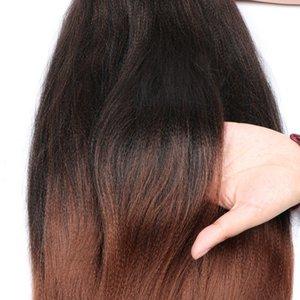 Preched Braiding Hair Easy Braid 26inch 길이 95Gram 일본어 섬유 소프트 느낌 온수 설정 땋는 머리 확장 Q1127