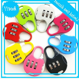 Mini Luggage Backpack Suitcase Combination Password Lock Student Children Outdoor Travel Locker Security Metal Padlock BC BH2704