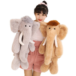 Nordic Style Long-nosed Elephant Doll Plush Toys, Children's Toys, Baby Soothing Dolls, Sleeping Gifts for Girls, Home Decor