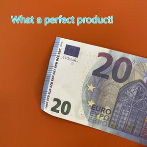 20 Euro Play Papel Impreso Money Toys PROP MONEY TOY PARA NIÑOS Regalos de Navidad o Props de Película 00