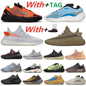 Kanye West 700 700s 380 رجل الاحذية الجمود VANTA 700S ثابت النساء موجة عداء البنفسجي أحذية رياضية 5-12