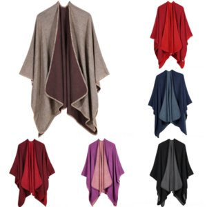 eR0 Winter Carriage Women's high quality Shawl Jacquard Selling Fashion Design Scarf Silk Solid color Cashmere wrap new cashmere scarf