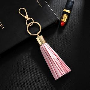 Mode Tassel Keychain Geschenke für Frauen LLaveros Mujer Bag Bugs Auto Halter Ornamente Schlüsselanhänger Inhaber Schmuck Zubehör EH340 H WMTCZK