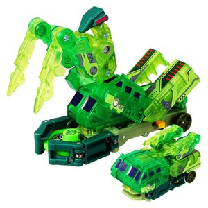 Screechers wild burst speed fly deformation car action figures capture wafer 360 flips transformation car toys for kids gift Q1123