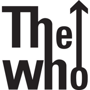 14.9X15.5CM MUSIC ROCK BANDS THE WHO Originality Vinyl Decal Black Silver Car Sticker S8-0637