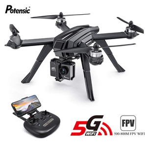 Professional GPS Drone Pensic D85 DRONES Quadcopters Brushless Segui Me Mode Telecomando RC Elicottero giocattoli Gifts LJ200908