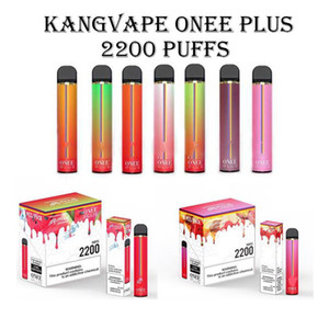 Orginal Kangvape Onee Plus Puff Plus Puff xtra Disposab Vape Pre-filled Pod 8.5 ml Capacity 2200+Puffs VS Puff xxl
