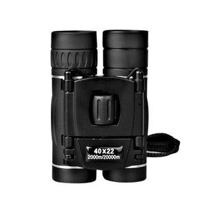 40x22 Mini бинокулярный Профессиональный бинокль телескоп для путешествий Concert Спорт на открытом воздухе Охота Туризм