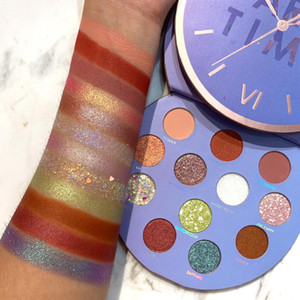 12 Colors Glitter Eyeshadow Pallete Waterproof Matte Makeup Palette Shimmer and Diamond Lasting-Effect Eye Shadow