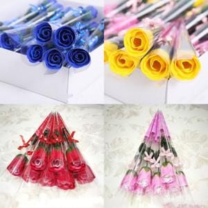 Pretty Soap Flower Daily Multi Color Single Branch Pratico Rose Decorations Donna Man Soprawort Valentino Regalo giorno 0 53ry K2