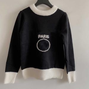 20ws Moda Bayan Kazak Sonbahar Ve Kış Casual Kadınlar için Yüksek Kaliteli Kazak 4 Renkler Streetwear Bayanlar Hoodie Boyutu S-L