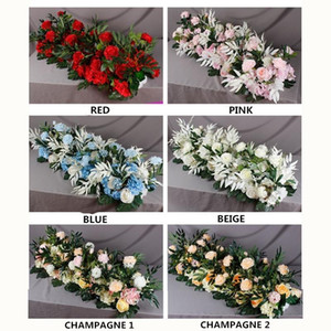 Flowers Wall Wedding Arch Stage Scene Layout Window Photo Studio Photography Flower Road Lead DIY Home Party Decoration
