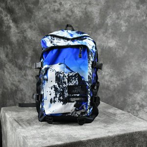 Snow mountain backpack large capacity leisure travel bag fashion trend