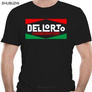 DellORTO Carburetor Motorcycle Logo Camiseta Todas las camisetas de algodón de color hombres de verano Camiseta de moda Tamaño Euro