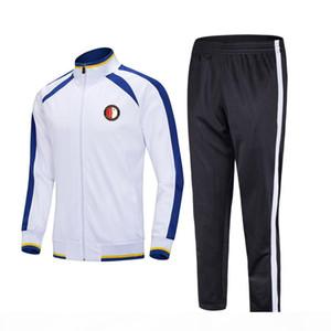 20 21 Feyenoord Football Club Adults Kids Soccer Jersey Winter Sets Custom Sports Uniforms Soccer Tracksuits
