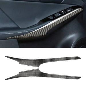 Strip décoratif de porte en fibre de carbone pour Lexus IS250 2013- Lecteur de gauche