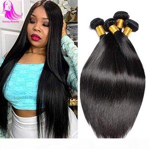 DHGATE Перуанские прямые пакеты 3 4 Bundle Deals Tifsage Peruviennes волос пучки ткань Chevaux Humain Lot 4 связки потрясающих волос