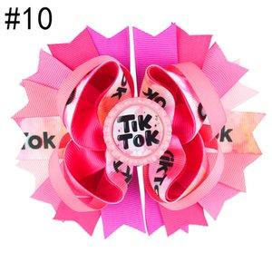 Livraison gratuite 6pcs 5.5'tiktok Inspiré Bows Bows Boutique Accessoires de cheveux avec Clip Mode Tok Tok Tok Coupes à cheveux Cheveux Ornements Bouteille