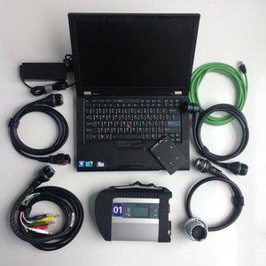 Reparação automotiva Ferramenta de diagnóstico usada Laptop Computadores T410 4G + MB Star C4 SD Connect C4 Compact + 360GB SSD com software1