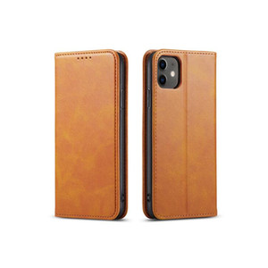 Suitable for iphone12 leather case to customize Apple 11 pro mobile phone shell 78plus XS MAX flip cover goophone