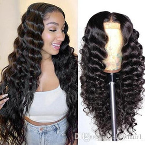 Top Quality Brazilian 4*4 Lace Closure Wig Straight Pre-Plucked Human Hair Wigs 150% Density Lace Wig with Baby Hair Indian Peruvian Hair