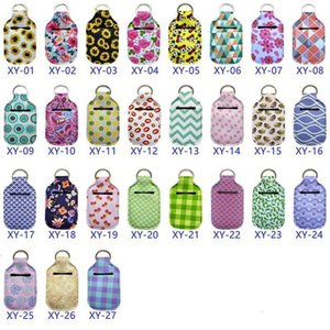 Neoprene Keychain Bags 30ml Hand Sanitizer Bottle A-Customize Chapstick Holder With Softball Keychains DHB2221EQHA
