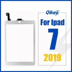 iPad 7 2019 شاشة لمس A1395 A1395 A1396 اللمس محول الأرقام الاستشعار زجاج لوحة firstouter شاشة اللمس الجبهة زجاج لوحة استبدال