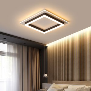 Modern Minimalism LED Ceiling Light Square Round Indoor down light Ceiling Lamp creative personality study bedroom balcony lamp