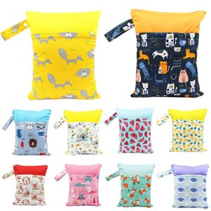 Diaper Double 30*37cm For Baby Waterproof Bags Mom Baby Stroller Use PUL Polyester Packet Bag Wet Asenappy Rbxqa