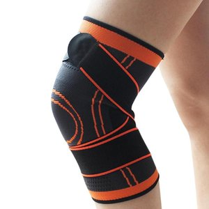 Knee Brace Compression Knee Support Joint Protection Protector Safety for Running Cycling Basketball Volleyball
