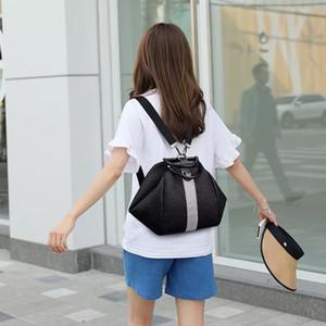 PB0004 New Arrivals Fashion Handbags Women's Black Backpack Leisure Backpack Retro Travel Bag Handbag 24x26x22cm Free Ship