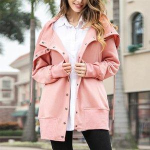 Jaquetas Outono Inverno Inverno Mulheres Breasted Mulheres Basic Casacos Casuais Senhora Quente Outerwear Casaco Cardigan Feminino Jacket Plus Size # 66