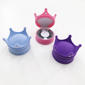2021 New Arrivals FDshine Crown Lash Boxes Without Eyelashes Empty Case For Regular Full Strip Lasheswholesale vendor