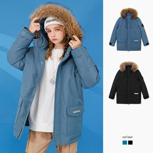 Men's down jacket 2020 new thickened warm coat autumn and winter mid length casual couple fashion brand winter wear