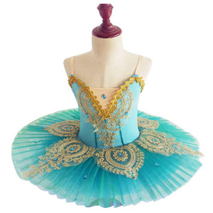 Swan Lake Girls Ballet Tutu Ballet Costume Ballerina Stage Show Children Professional Dance Dress for Children